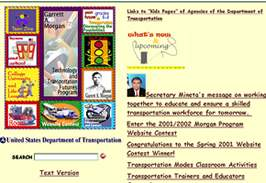 Web graphic for US DOT site