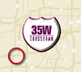 logo for 35/Crosstown project