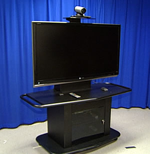 Large LCD screen