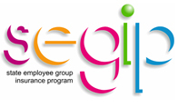 Graphic for state employee group insurance program.